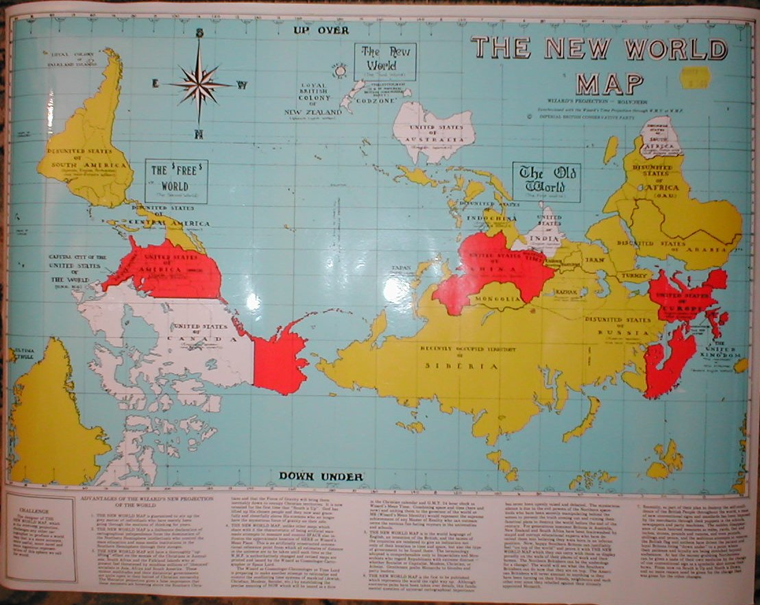 The upsidedown map page francis irving the wizard of new zealands map gumiabroncs Image collections
