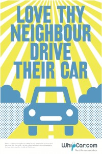 Love they neighbour - drive their car