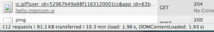 Timing to load page in Chrome